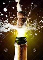 Popping champagne corks