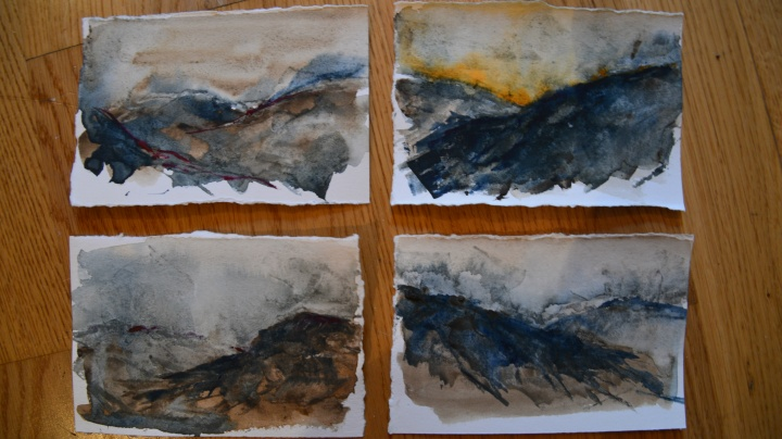 Small studies inpired by Derbyshire