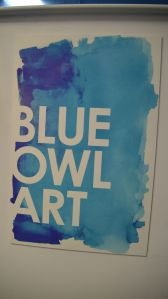 Blue Owl Art