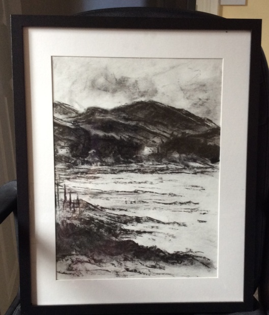 Auchencairn in charcoal