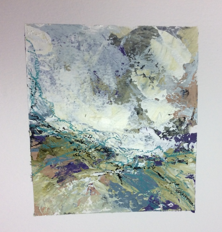 Carolyn J Roberts Artist acrylic painting