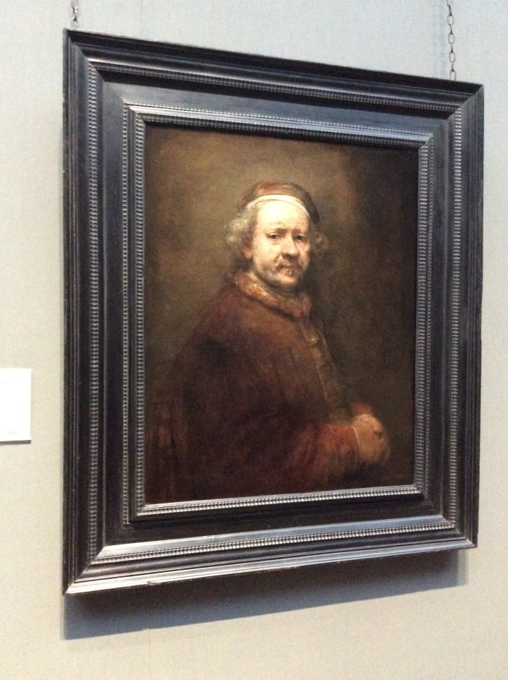 Rembrandt, Self Portrait at The National Gallery