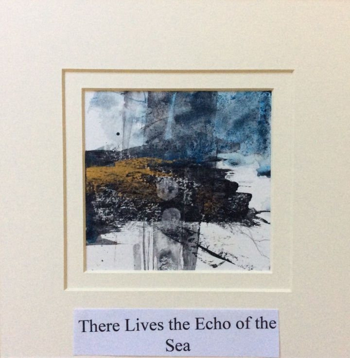 There Lives the Echo of the Sea - Carolyn J Roberts Artist